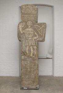 Križ s likom srednjovjekovnog viteza Nepoznat