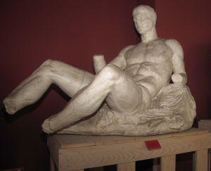 Dioniz, detalj zabata Partenona Fidijina škola