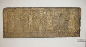 Ploča stećka s plesnom scenom Nepoznat
