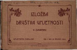 Izložba Društva umjetnosti u Zagrebu