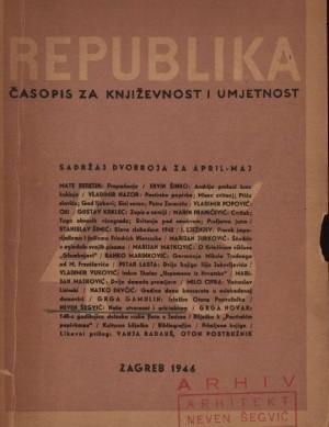 Naša stvarnost i arhitektura : Republika