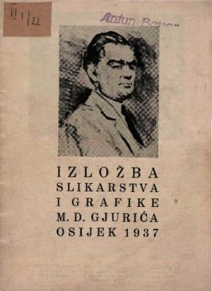 Izložba slikarstva i grafike M. D. Gjurića
