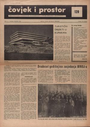 Dvadeset godišnjica zasjedanja AVNOJ-a (razgovor) : Čovjek i prostor