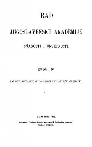 Knj. 71(1909) : RAD