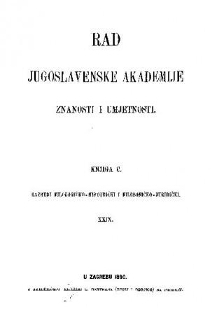 Knj. 29(1890) : RAD