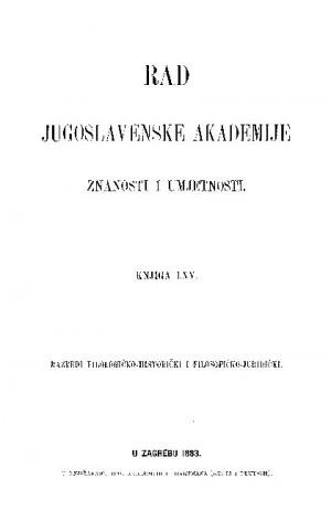 Knj. [4](1883) : RAD