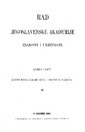 Knj. 11(1885) : RAD