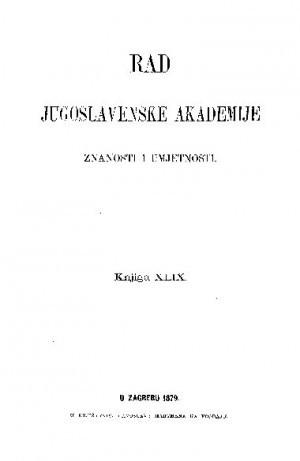 Knj. 49(1879) : RAD