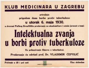 Intelektualna zvanja u borbi protiv tuberkuloze