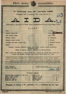 Aida : Velika opera u četiri čina