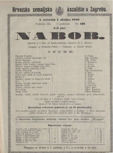 Nabob opereta u 3 čina / od Srećka Albinija