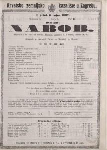 Nabob opereta u tri čina