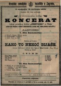 Koncerat : češkog pjevačkog društva