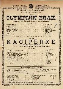 Olympijin brak Drama u 3 čina / Napisao Emile Augier