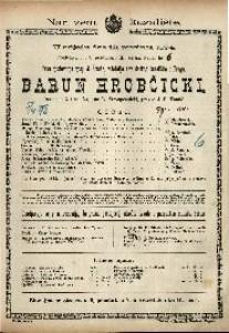 Barun Hrobčicki Drama u 3 čina / Napisao L. Stroupežnicki
