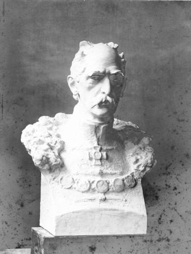 Valdec, Rudolf  : Model biste Ivana Kukuljevića Sakcinskog za Zrinjevac