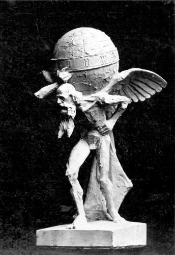 Valdec, Rudolf (1872-1929) : Atlas - sadreni model