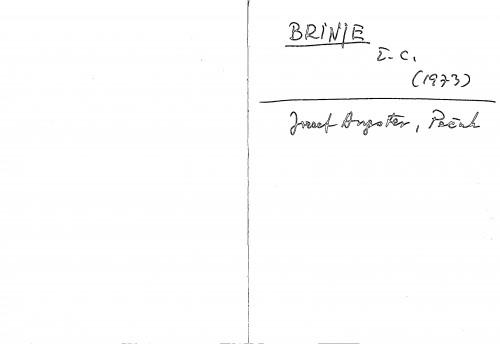 Brinje ž. c.