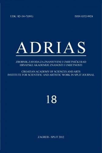 Sv. 18 (2012) : Adrias : zbornik Zavoda za znanstveni i umjetnički rad Hrvatske akademije znanosti i umjetnosti u Splitu