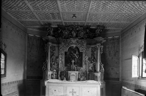 Kapela Svetog Petra (Banski Kovačevac) : glavni oltar, 18. st.
