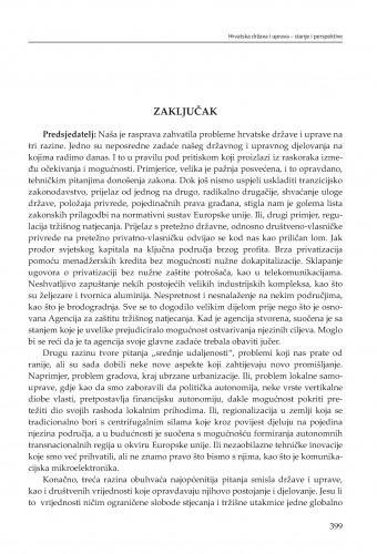 Zaključak : Modernizacija prava