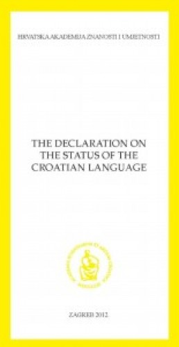 Declaration on the status of the Croatian language