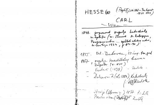 Hesse Carl Wien