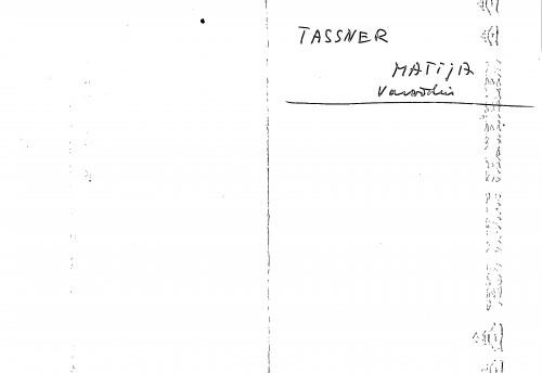 Tassner Matija Varaždin