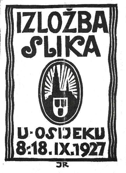 Izložba slika u okviru III. gospodarske izložbe i Velikog sajma u Osijeku
