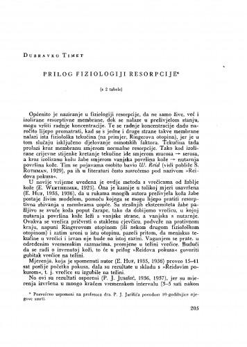 Prilog fiziologiji resorpcije