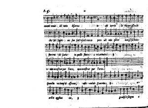 Li madrigali a quattro, et a cinque voci canto ; nuovamente composti, dati in luce, & corretti / di M. Giulio Schiavetto
