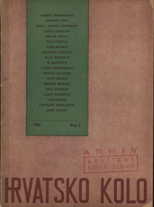 Organska arhitektura F. L. Wrighta : Hrvatsko kolo