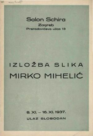 Izložba slika Mirko Mihelić