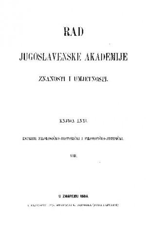 Knj. 8(1884) : RAD