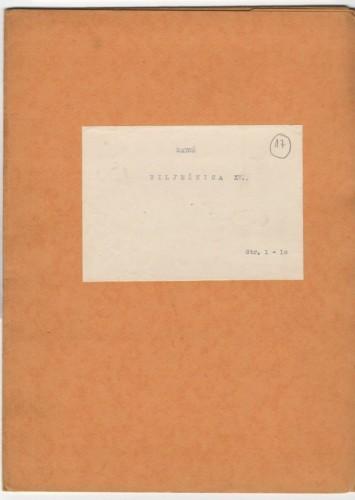 Bilježnica XVII.