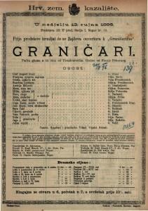 Graničari Pučka gluma u tri čina / od Freudenreicha