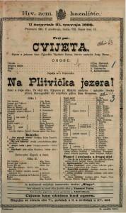 Cvijeta Opera u jednom činu / Uglazbio Vladimir Bersa