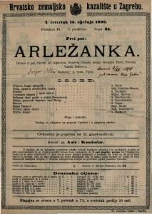Arležanka drama u pet činova / od Alphonsa Daudeta