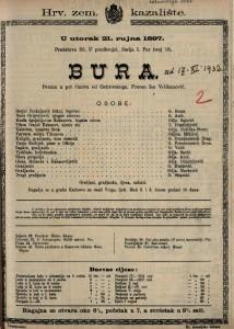 Bura drama u pet činova / od Ostrovskoga