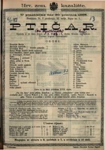 Ptičar Opereta u tri čina / Glazba od Karl Zellera