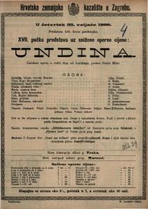Undina čarobna opera u četiri čina / od Lortzinga