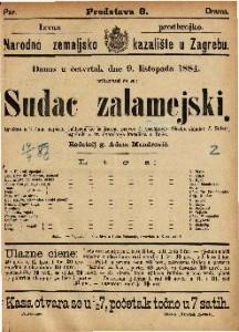 Sudac zalamejski Igrokaz u 3 čina / napisao Calderon de la Barca