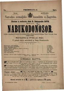 Nabukodonosor lirička tragedija u 4 čina / glasbu sastavio Giuseppe Verdi