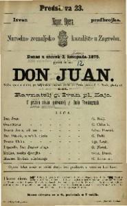 Don Juan velika opera u 2 čina / po talijanskom napisao Abate de Ponte
