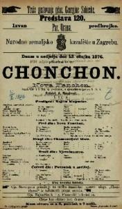 Chonchon ili Nova Fanchon vaudeville u 4 čina sa predigrom