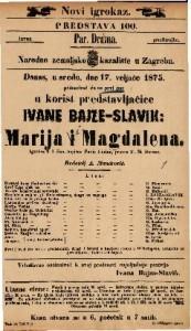 Marija i Magdalena Igrokaz u 4 čina / napisao Pavle Lindau