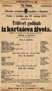 Trideset godinah iz kartaševa života Igrokaz u tri razdiela / polag francezkoga preveo S. D. K.