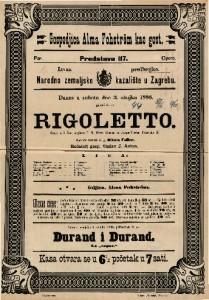 Rigoletto Opera u 3 čina / Glasba od Josipa Verdi-a
