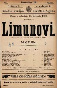 Limunovi Vesela igra u 4 čina / napisao J. Rozen