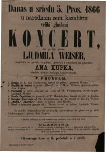 Koncert : Ljudmila Weiser i Ana Kupka